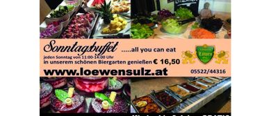 Sonntagsbuffet ...all you can eat im Löwen Sulz