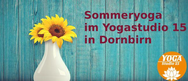 Sommeryoga in Dornbirn