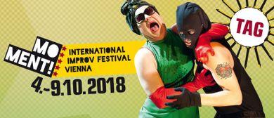 MOMENT! 7th INTERNATIONAL IMPROV FESTIVAL VIENNA 2018