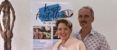 Kunst-Ausstellung und Käseklatsch in Alberschwende