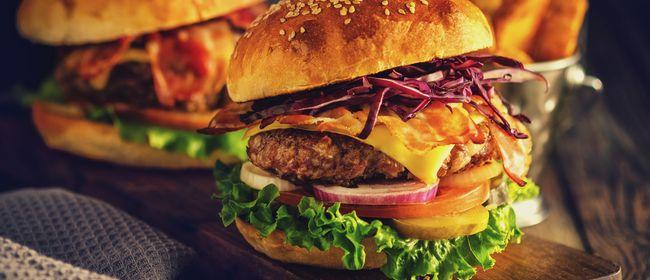 Burgergenuss im Vienna 1st