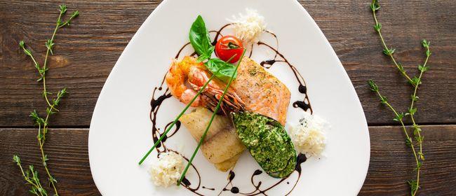 Köstliche Fischvariation im Huth da Moritz