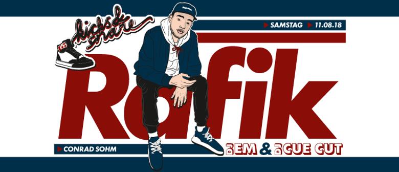 Kicks & Snare w/ RAFIK [6x DJ WorldChampion], DJ Cue Cut & D