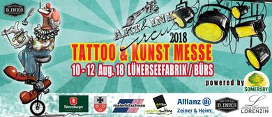 Art & Ink Tattoo und Kunstmesse 2018