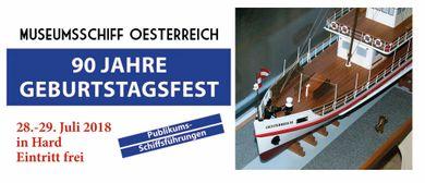 Hafenfest 90. Geburtstag MS OESTERREICH