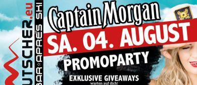 Ausrutscher Captain Morgan Promoparty