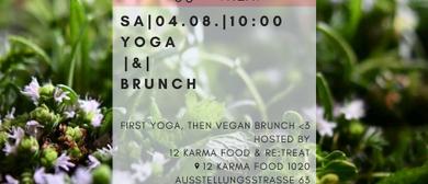 YOGA & BRUNCH @12 KARMA FOOD