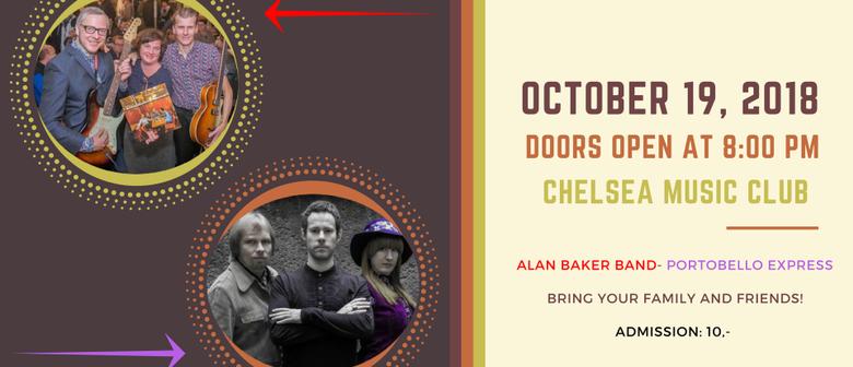 Alan Baker Band (D)- Portobello Express (A)