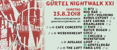 Gürtel Nightwalk XXI