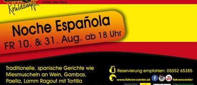 Noche Española - Spanischer Kulinarik Abend