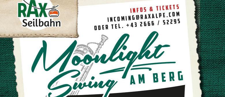 Moonlight-Swing am Berg