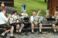Volksmusik im Museumsgarten