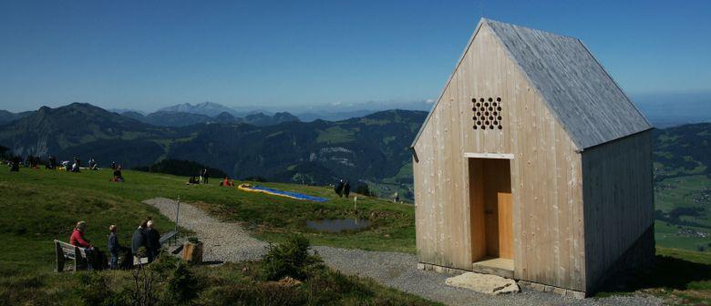Bergmesse mit Kräuterweihe Alpe vordere Niedere Andelsbuch