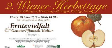 2. Wiener Herbsttage im Burggarten