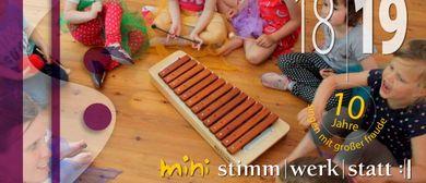 singstart - Musikkurs für Kleinkinder mit Begleitperson