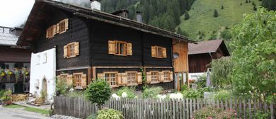 Historische ArchitekTour Montafoner Baukultur, Haus Schöpf