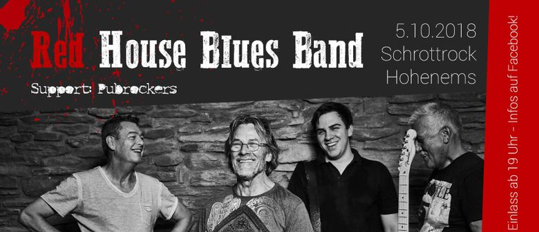 Red House Blues Band & Pubrockers im Schrottrock