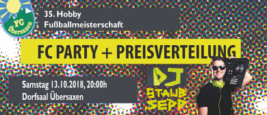 FC Party mit DJ Staub Sepp