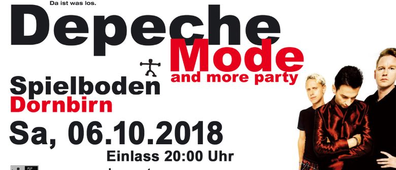 34te Depeche Mode & more Party