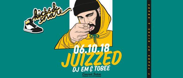9ine Years of Kicks & Snare w/ Juizzed, DJ Em & Tobee