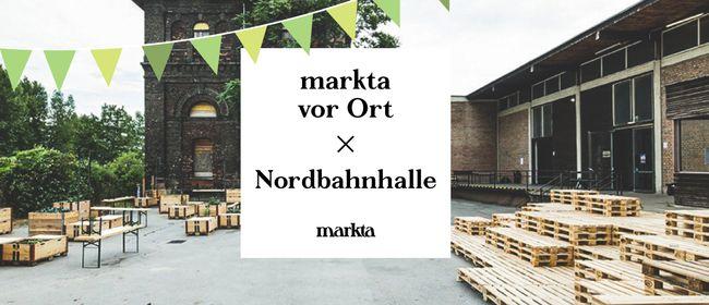 ♡ markta vor Ort ♡ Nordbahnhalle