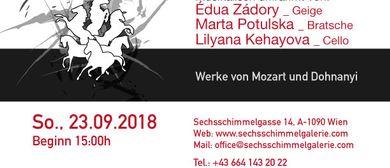 Kammermusik Konzert mit Bilderausstellung