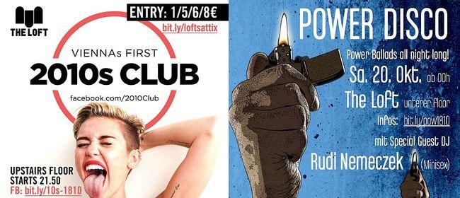 2010s Club & POWER DISCO mit Rudi Nemeczek