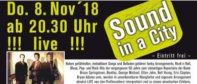SOUND IN A CITY live im Restaurant am Marktplatz