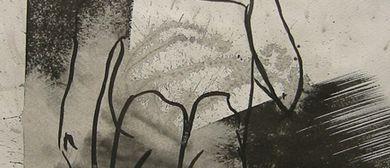 Acryl auf Leinwand im Cafe Prückel