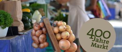 Marktfest am Wochenmarkt im Zeichen der Haltbarkeit