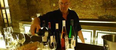 Kommentierte Weinverkostung mit Kellerführung