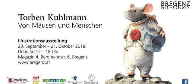 """Illustrationsausstellung """"Von Mäusen und Menschen"""""""