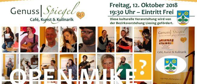 Das Kleinkunst-Café GenussSpiegel präsentiert: OPEN MIKE #8