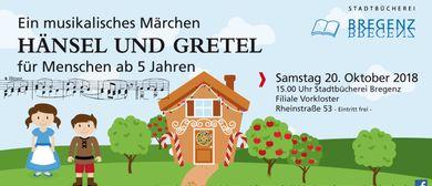 Ein musikalisches Märchen: HÄNSEL UND GRETEL (ab 5 Jahren)