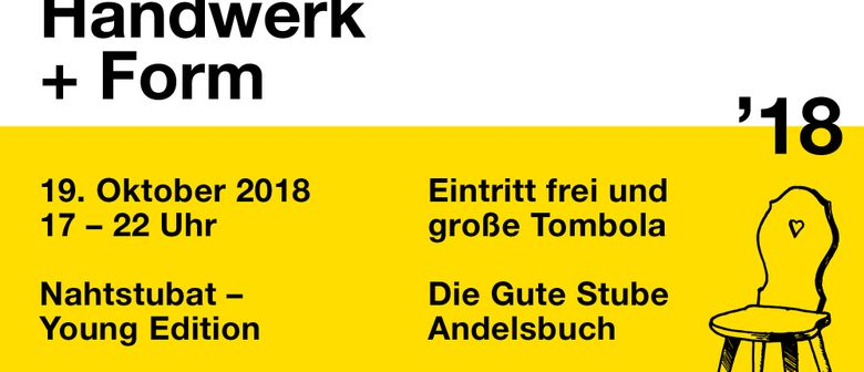 Handwerk + Form 2018: Nahtstubat – Young Edition