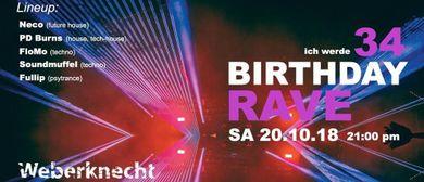 Birthday Rave