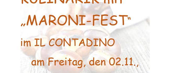 MARONI-FEST mit Herbst-Kulinarik