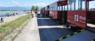 Inklusionsfahrt an die Rheinmündung mit der Dampflokomotive