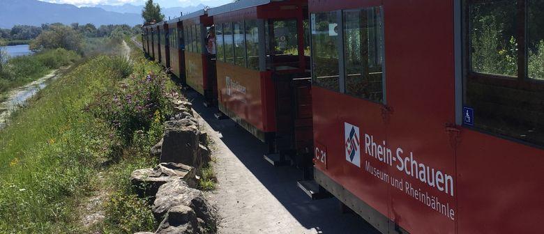 Rheinmündungsfahrt mit der Elektrolokomotive