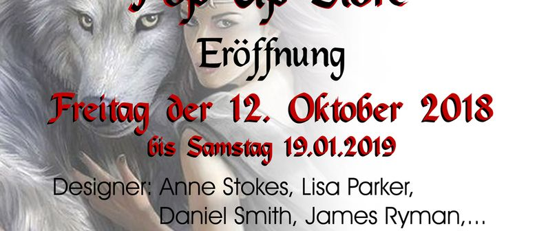 FANTASY POP UP STORE im Zentrum Simmering