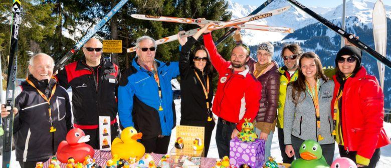 Langlauf-Charity am Kristberg in Silbertal im Montafon