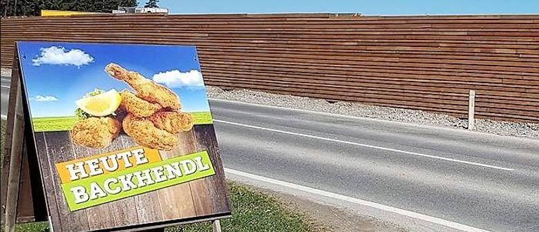 Backhendl Essen an zwei Tagen im Galina Nenzing