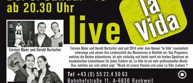 LA VIDA live @ Marktplatz Restaurant Rankweil