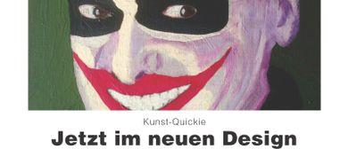 """"""" Jetzt im neuen Design""""  Ausstellung mit Daque"""