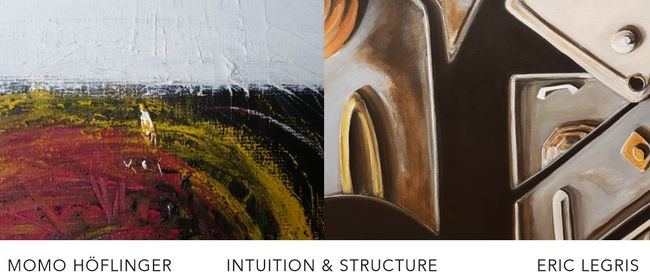"""VERNISSAGE """"INTUITION & STRUCTURE"""""""