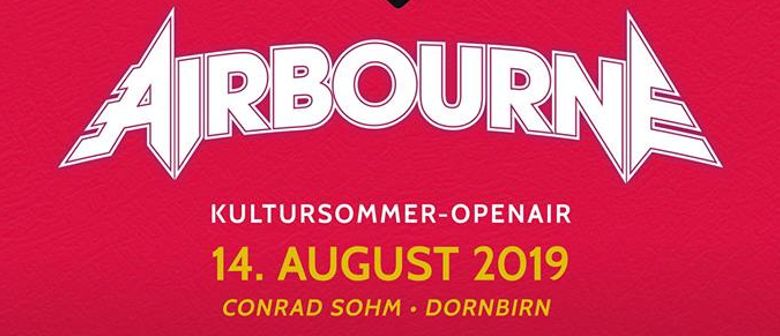 AIRBOURNE - Kultursommer-Openair