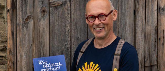 Wer spinnt, gewinnt! Buchpräsentation mit Johannes Gutmann: ABGESAGT