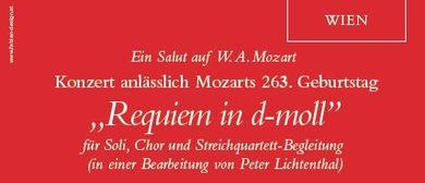 Ein Salut auf W. A. Mozart
