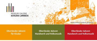 Oberländer Advent im Zeichen von Handwerk und Volksmusik