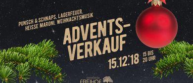 Advents-Verkauf in der Destillerie Freihof